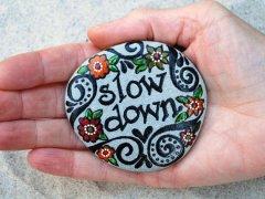 Slow Down Button